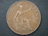 1 пенни 1929 год
