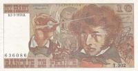 10 франков 1978 год