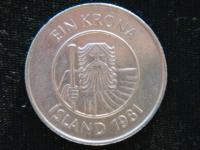 1 крона 1981 год
