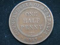 1\2 пенни 1917 год