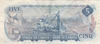 5 Долларов 1972  год КАНАДА