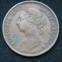 1 фартинг 1888 год