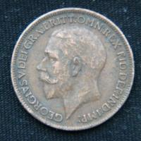 1 фартинг 1920 год