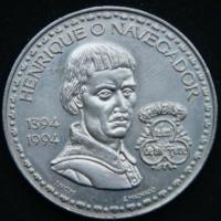 200 эскудо 1994 год 600 лет со дня рождения Генриха Мореплавателя