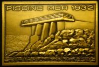 Плакета Олимпийский бассейн 1968 год