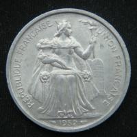 5 франков 1952 год Новая Каледония