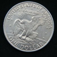 1 доллар 1972 год  США