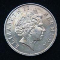 1 доллар 2002 год Бермуды