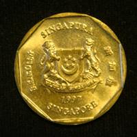 1 доллар 1997 год Сингапур