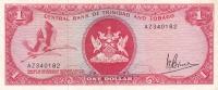 1 доллар 1964 года  Тринидад и Тобаго