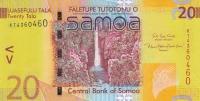 20 тал 2008-2017 года Самоа