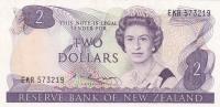 2 доллара 1981 год Новая Зеландия