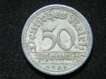 50 пфеннигов 1921 год