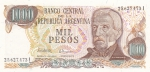 1000 песо 1973-1976 год