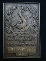 Плакета Швеция 1966 год