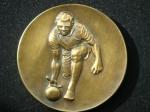Медаль  боулинг