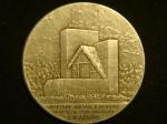 Медаль  Памятник шалаш в Разливе