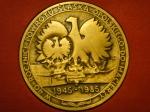 Медаль Польша 1985 год
