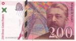 200 франков 1996 год
