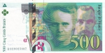 500 франков 1994 год