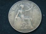 1 пенни 1917 год