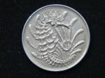 10 центов 1971 год Сингапур