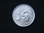 5 центов 1976 год Сингапур