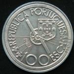 100 эскудо 1987 год   Диогу Кан