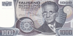 1000 шиллингов 1983 год Австрия
