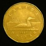 1 доллар 1987 год Канада