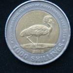 1000 шиллингов 2012 год УГАНДА Независимость