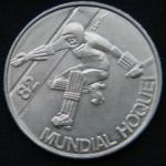 25 эскудо 1982 год  Чемпионат мира по хоккею на роликах