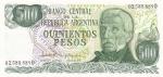 500 песо 1970 -1973 год