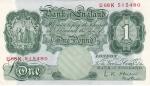 1 фунт 1948-1960 год Великобритания