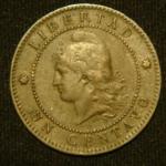 1 сентаво 1886 год