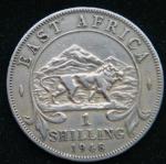 1 шиллинг 1948 года Британская Восточная Африка