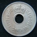 1 пенни 1941 год Фиджи