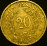 20 марок 1938 год  Финляндия