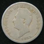 10 сентаво 1921 год Сальвадор