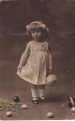 Почтовая карточка 1913 год Пасха