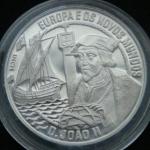 2 1\2 ЭКЮ 1992 год Европа и Новый Свет - Жуан II  Португалия