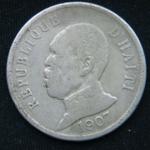 50 сантимов 1907 год Гаити