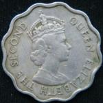 10 центов 1971 год Маврикий