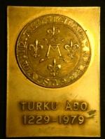 Плакета Турку 1979 год