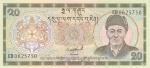 20 нгултрумов 1986-2000 год  Бутан