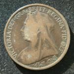1 пенни 1896 год