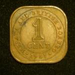 1 цент 1961 год Малайя и Британское Борнео