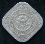 5 центов 1929 год Нидерланды