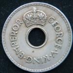 1 пенни 1935 год Фиджи