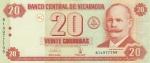 20 кордоб 2006 год НИКАРАГУА